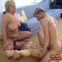 Mother son anal incest camping