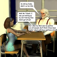 Fascinating 3d incest comic pics dedicated to hot story